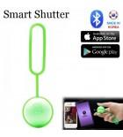 (Sample) Bluetooth Remote Shutter for Smartphone Camera - SB-01M (Green)